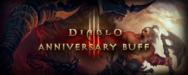 Diablo III Anniversary Buff