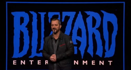 Chris Metzen at PS4 Event