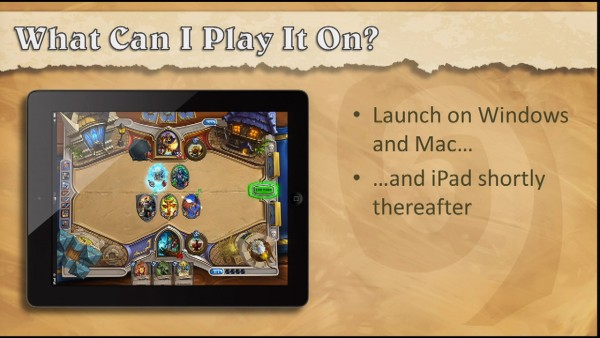 HearthStone Announcement