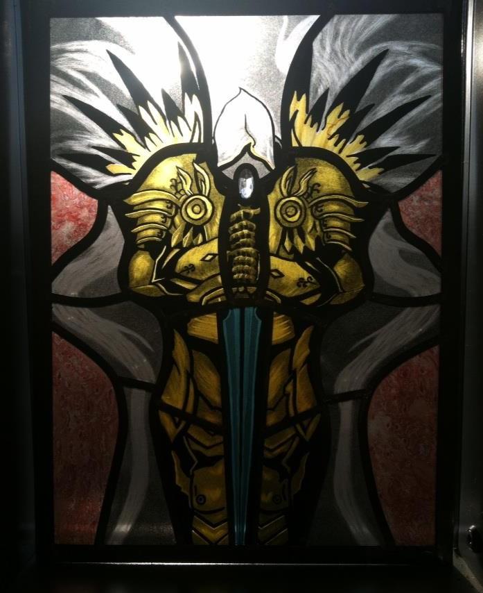 View Diablo 3 Tyrael Art PNG