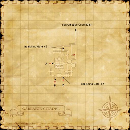 Zone: Garlaige Citadel - Final Fantasy XI - somepage com