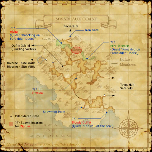Zone: Misareaux Coast - Final Fantasy XI - somepage.com on charis island map, dread empire map, second exit garlaige citadel map, world political map, elemental world map,